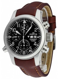 Fortis B42 Flieger Alarm Chronograph Limited Edition COSC 657.10.11 L.18 watch image