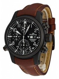 Fortis B42 Flieger Alarm Chronograph Limited Edition COSC 657.18.11 L.18 watch image
