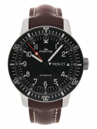 Fortis B42 Official Cosmonauts DayDate Automatic 647.10.11 L.16 watch image