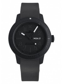 Fortis B42 Pitch Black DayDate Limited Edition 647.28.81 K watch image