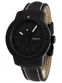 Fortis B42 Pitch Black DayDate Limited Edition 647.28.81 L01 watch image