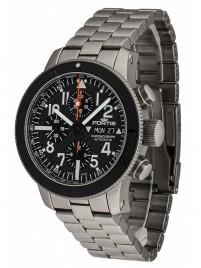 Fortis B42 Titanium Carbon Dial Chronograph 638.27.51 M watch image