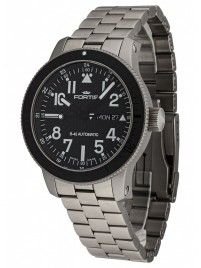 Fortis B42 Titanium Carbon Dial DayDate 647.27.71 M watch image