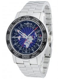 Fortis B47 World Timer GMT 674.21.11 M watch image