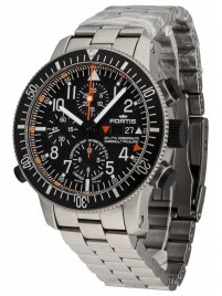 Fortis Cosmonauts Titanium Alarm Chronograph Limited Edition COSC 660.27.11 M watch image
