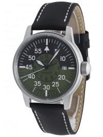 Fortis Flieger Cockpit Olive Date 595.11.16 L.01 watch image