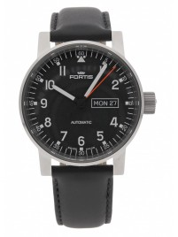 Fortis Spacematic Pilot Professional DayDate Automatic 623.10.71 L.10 watch image