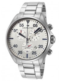 Hamilton Khaki Aviation Chronograph Date Quarz H76712151 watch image