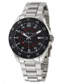 Hamilton Khaki Aviation Khaki Pilot GMT Date Automatic H76755135 watch image