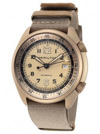 Hamilton Khaki Aviation Pilot Pioneer Aluminium Date Automatic H80435895 watch image