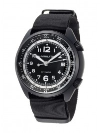 Hamilton Khaki Aviation Pilot Pioneer Aluminium Date Automatic H80485835 watch image