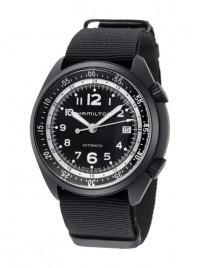 Hamilton Khaki Aviation Pilot Pioneer Aluminium Date Automatic H80485835 watch image