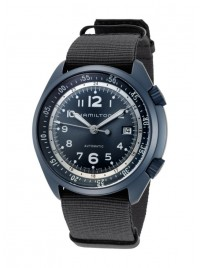 Hamilton Khaki Aviation Pilot Pioneer Aluminium Date Automatic H80495845 watch image