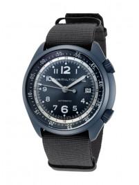 Hamilton Khaki Aviation Pilot Pioneer Aluminium Date Automatic H80495845 watch image