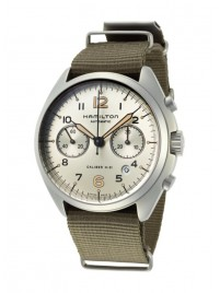 Hamilton Khaki Aviation Pilot Pioneer Chronograph Date Automatic H76456955 watch image