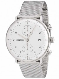 Junghans Max Bill Chronoscope 0274003.44 watch image