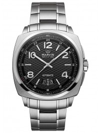 Marvin Malton Cushion Date M119.13.44.11 watch image