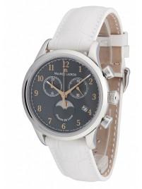 Maurice Lacroix Les Classiques Phase de Lune Chronograph Date Mondphase Quarz LC1087SS001821 watch image