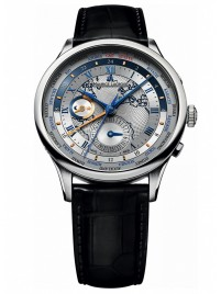 Maurice Lacroix Masterpiece Worldtimer MP6008SS001111 watch image