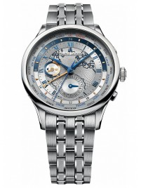 Maurice Lacroix Masterpiece Worldtimer MP6008SS002111 watch image
