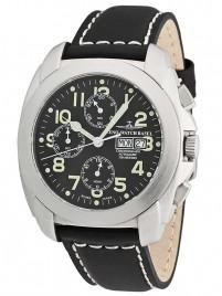 Zeno Watch Basel Carre OS Saphir Chronograph DayDate watch image