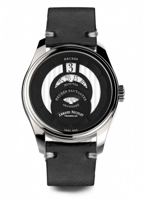Armand Nicolet HS2 Automatic Jumping Hour A136AAANRPK2140NR watch picture