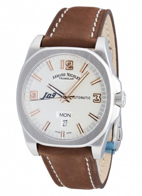 Armand Nicolet J09 Day-Date Automatic 9650AASP865MR2 watch picture