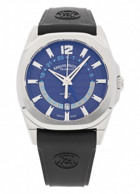 Armand Nicolet J092 GMT Automatic A653AAABUGG4710U watch picture