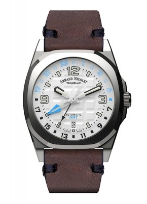 Armand Nicolet JH9 GMT Date Automatic A663HAAAZPK4140TM watch picture