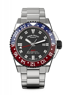 Armand Nicolet JS9 GMT Date Automatic A486BGNNRMA4480AA watch picture