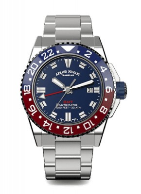 Armand Nicolet JS9 GMT Date Automatic A486BGUBUMA4480AA watch picture