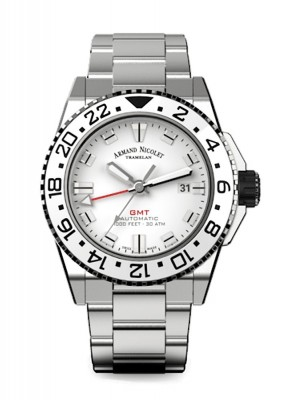 Armand Nicolet JS9 GMT Date Automatic A486CGNAGMA4480AA watch picture