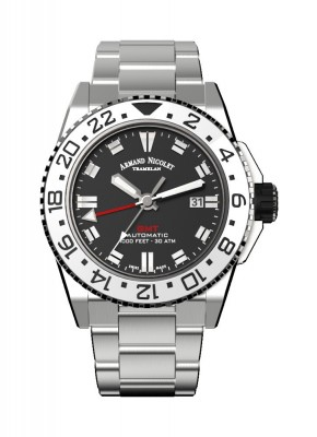 Armand Nicolet JS9 GMT Date Automatic A486CGNNRMA4480AA watch picture