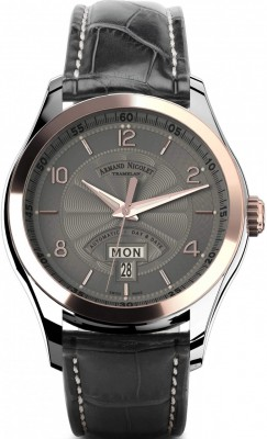 Armand Nicolet M02 Day-Date 8740AGSP974GR2 watch picture