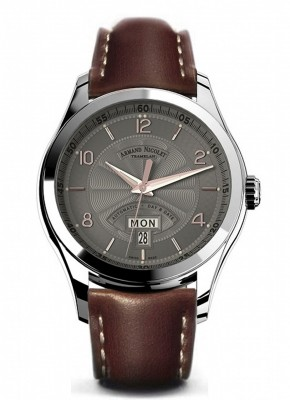 Armand Nicolet M02 Day-Date Automatic 9740AGSP140MR2 watch picture