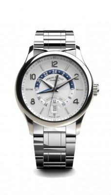 Armand Nicolet M024 GMT Date 2.Zeitzone Automatic A846AAAAGM9742 watch picture