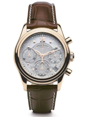 Armand Nicolet M03 Date Chronograph 18kt Gold 7154AANP915MR8 watch picture
