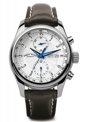 Armand Nicolet MH2 Chronograph Date Wochentag Automatic A647AAGP140NR2 watch picture