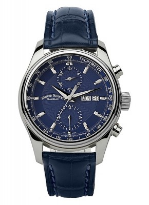 Armand Nicolet MH2 Chronograph Date Wochentag Automatic A647ABUP840BU2 watch picture