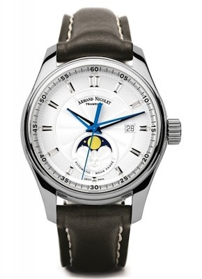 Armand Nicolet MH2 Date Mondphase Automatic A640LAGP140NR2 watch picture