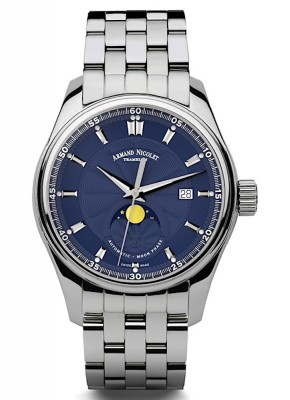 Armand Nicolet MH2 Date Mondphase Automatic A640LBUMA2640A watch picture