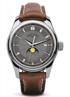 Armand Nicolet MH2 Date Mondphase Automatic A640LGRP140MR2 watch picture