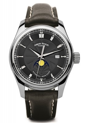 Armand Nicolet MH2 Date Mondphase Automatic A640LNRP140NR2 watch picture