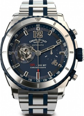 Armand Nicolet S05 Chronograph 300M Automatic A714AGUBUMA4710GU watch picture