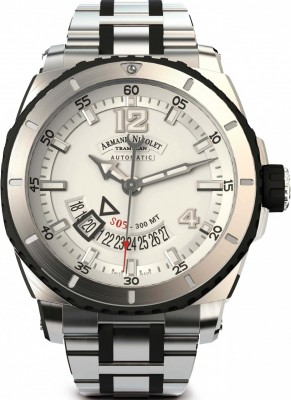 Armand Nicolet S05 Date 300M Automatic A710AGNAGMA4710GN watch picture