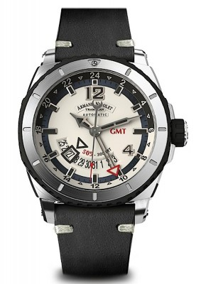 Armand Nicolet S05 GMT 300M Automatic A713AGNAKPK4140NR watch picture