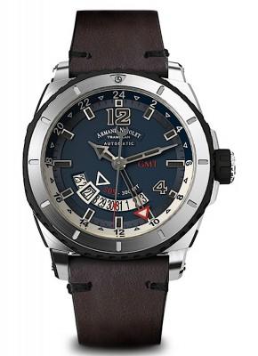 Armand Nicolet S05 GMT 300M Automatic A713AGNBUPK4140TM watch picture