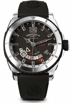 Armand Nicolet S05 GMT 300M Automatic A713AGNGRGG4710N watch picture