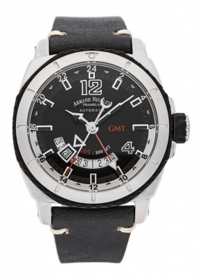 Armand Nicolet S053 GMT Date Automatic A713AGNNRPK4140NR watch picture