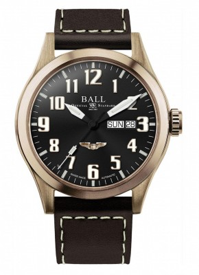 Ball Engineer III Bronze Star USAF Wings NM2186CL2JBK watch picture
